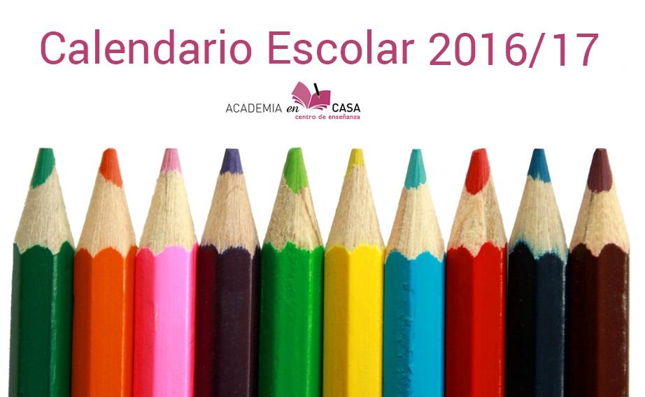 fechas clases granada 2016/2017