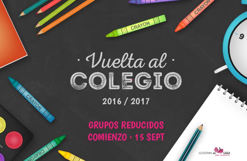 Vuelta al colegio 2016/2017